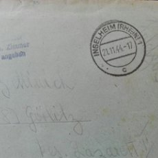 Militaria: FELDPOST CORREO MILITAR AÑO 1944. Lote 78386297