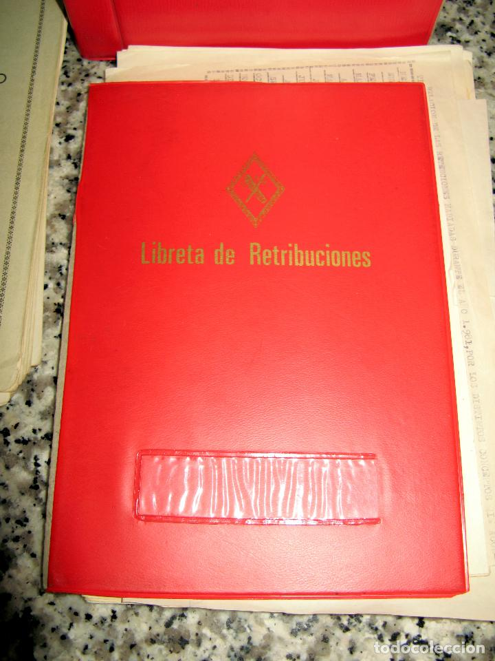 Militaria: Lote de Documentos y Papel de la Guardia Civil.Años 60 - Foto 2 - 80092977