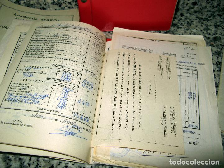 Militaria: Lote de Documentos y Papel de la Guardia Civil.Años 60 - Foto 4 - 80092977