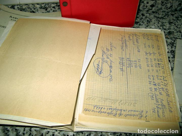 Militaria: Lote de Documentos y Papel de la Guardia Civil.Años 60 - Foto 5 - 80092977