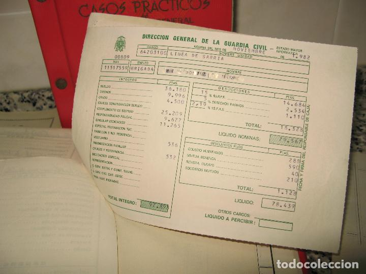 Militaria: Lote de Documentos y Papel de la Guardia Civil.Años 60 - Foto 6 - 80092977