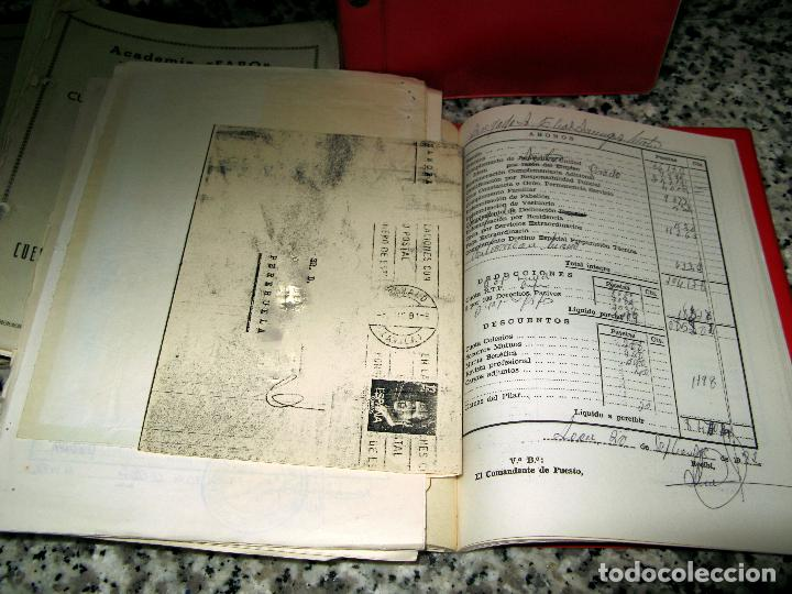 Militaria: Lote de Documentos y Papel de la Guardia Civil.Años 60 - Foto 7 - 80092977