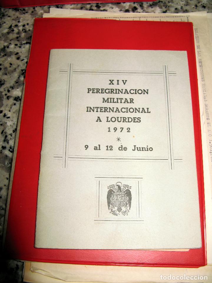 Militaria: Lote de Documentos y Papel de la Guardia Civil.Años 60 - Foto 8 - 80092977