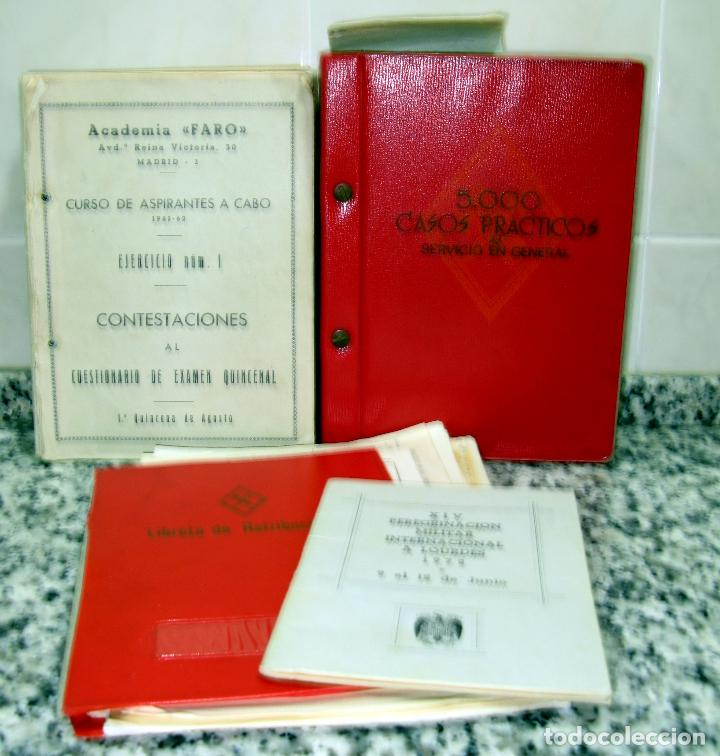 Militaria: Lote de Documentos y Papel de la Guardia Civil.Años 60 - Foto 15 - 80092977