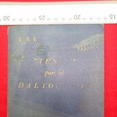 Militaria: ESCUELA AUTOMOVILISTICA DEL EJERCITO TESTS DE DALTONISMO 1957 FOLLETO Y 9 LAMINAS 190 GRS. Lote 80715746