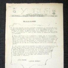 Militaria: REVISTA YUGOS. AÑO I Nº2. MADRID, 1942. CENTURIA TRAFALGAR. FALANGE. PROPAGANDA FASCISTA. RARO . Lote 80716150
