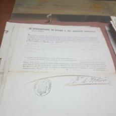 Militaria: HISTORIAL MILITAR COMPLETO 47 DOCUMENTOS DESDE 1854 A 1899 PERFECTO ESTADO CONSERVACION. Lote 82803040