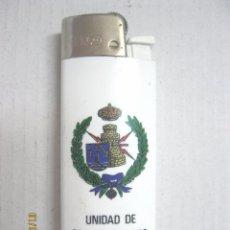 Militaria: MECHERO UNIDAD DE TRANSMISDIONES REGIONAL II. Lote 85342476