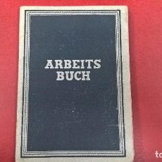 Militaria: ARBEITSBUCH-CARTILLA TRABAJO ALEMAN-LEIPZIG1948. Lote 85573604