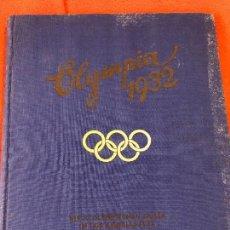 Militaria: ALBUM DE CROMOS OLYMPIA 1932 ¡SIN ESTRENAR! TERCER REICH, FUHRER ADOLF HITLER,NAZI. Lote 86577796