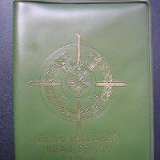 Militaria: CARTERA MILITAR GRUPO REGULARES INFANTERÍA N3 DE CEUTA. Lote 88128260