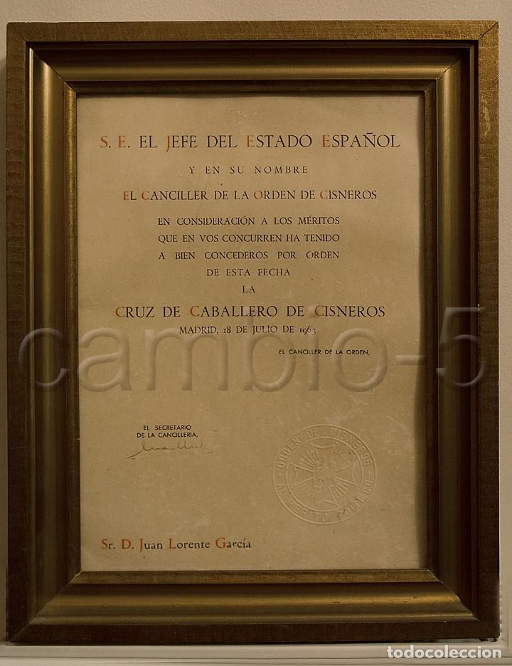 1 concesión de la cruz de caballero de la orde - Comprar Propaganda ...
