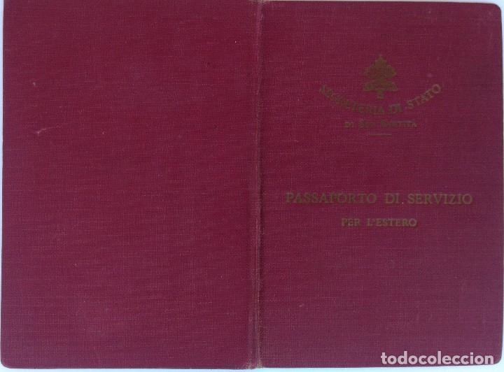 Militaria: PASAPORTE VATICANO,SANTA SEDE,SECRETARIA DEL PAPA,AÑO 1941, SELLOS EJERCITO ALEMAN,II GUERRA MUNDIAL - Foto 2 - 90367836