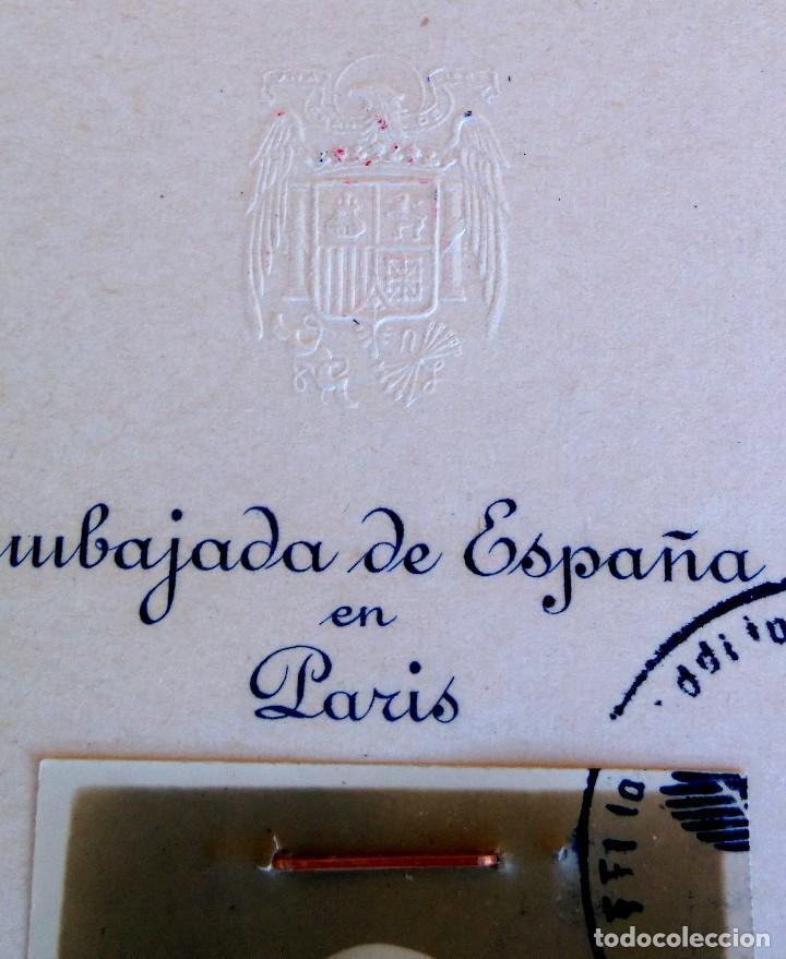 Militaria: PASAPORTE VATICANO,SANTA SEDE,SECRETARIA DEL PAPA,AÑO 1941, SELLOS EJERCITO ALEMAN,II GUERRA MUNDIAL - Foto 4 - 90367836
