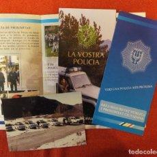 Militaria: HISTORIA DE LA POLICIA - PRINCIPADO DE ANDORRA. Lote 191335107