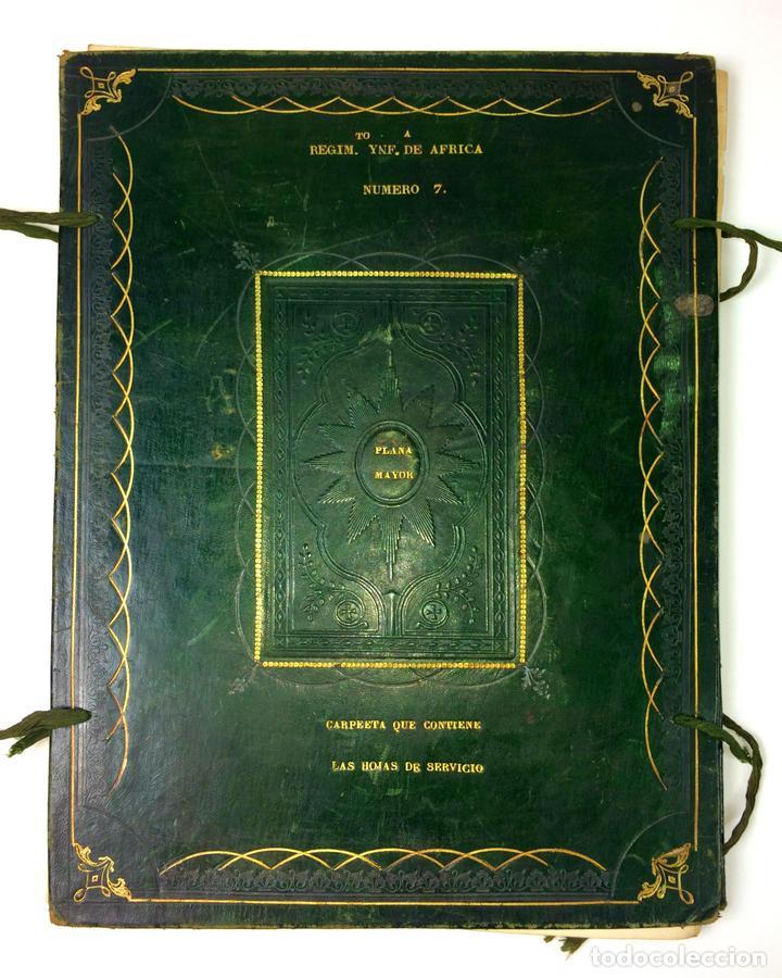 GRAN FONDO DOCUMENTAL DE LA SAGA MILITAR ALDANESE. ANDRÉS, DOMINGO, DOMINGO M. ESPAÑA. 1757-1900 (Militar - Propaganda y Documentos)