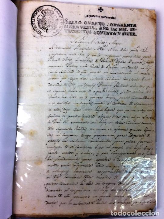 Militaria: GRAN FONDO DOCUMENTAL DE LA SAGA MILITAR ALDANESE. ANDRÉS, DOMINGO, DOMINGO M. ESPAÑA. 1757-1900 - Foto 8 - 90541385
