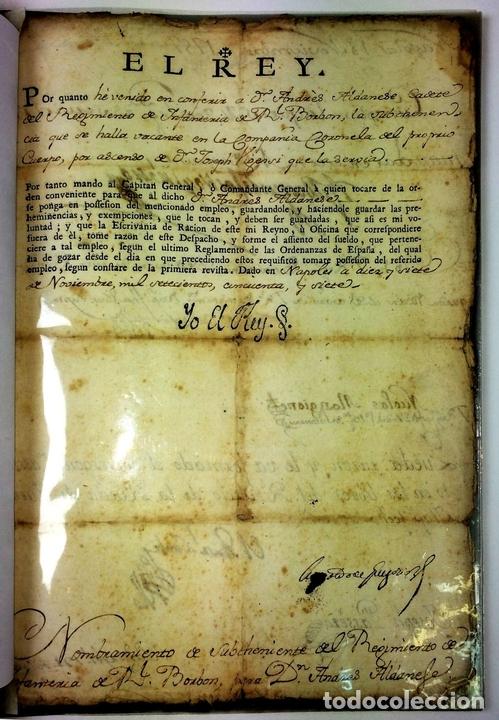 Militaria: GRAN FONDO DOCUMENTAL DE LA SAGA MILITAR ALDANESE. ANDRÉS, DOMINGO, DOMINGO M. ESPAÑA. 1757-1900 - Foto 9 - 90541385