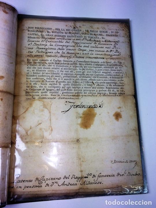 Militaria: GRAN FONDO DOCUMENTAL DE LA SAGA MILITAR ALDANESE. ANDRÉS, DOMINGO, DOMINGO M. ESPAÑA. 1757-1900 - Foto 34 - 90541385