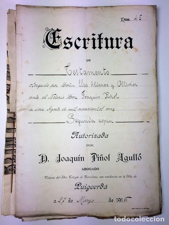 Militaria: GRAN FONDO DOCUMENTAL DE LA SAGA MILITAR ALDANESE. ANDRÉS, DOMINGO, DOMINGO M. ESPAÑA. 1757-1900 - Foto 42 - 90541385