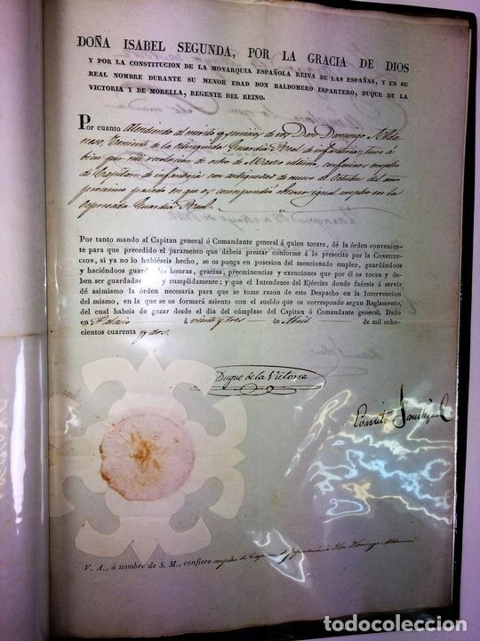 Militaria: GRAN FONDO DOCUMENTAL DE LA SAGA MILITAR ALDANESE. ANDRÉS, DOMINGO, DOMINGO M. ESPAÑA. 1757-1900 - Foto 45 - 90541385