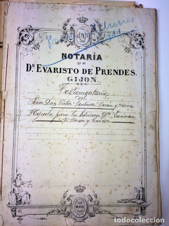 Militaria: GRAN FONDO DOCUMENTAL DE LA SAGA MILITAR ALDANESE. ANDRÉS, DOMINGO, DOMINGO M. ESPAÑA. 1757-1900 - Foto 48 - 90541385