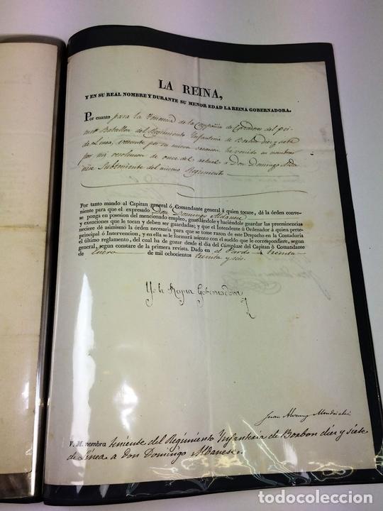 Militaria: GRAN FONDO DOCUMENTAL DE LA SAGA MILITAR ALDANESE. ANDRÉS, DOMINGO, DOMINGO M. ESPAÑA. 1757-1900 - Foto 51 - 90541385