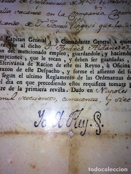 Militaria: GRAN FONDO DOCUMENTAL DE LA SAGA MILITAR ALDANESE. ANDRÉS, DOMINGO, DOMINGO M. ESPAÑA. 1757-1900 - Foto 57 - 90541385