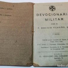 Militaria: DEVOCIONARIO MILITAR - GUERRA CIVIL - 1938. Lote 91304320