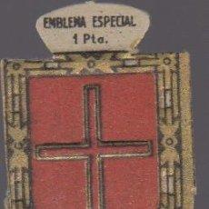 Militaria: EMBLEMA AUXILIO SOCIAL VILADEMANY SERIE C Nº 29 EMBLEMA ESPECIAL 1 PTA. Lote 128008822