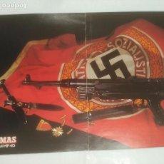 Militaria: CARTEL ARMAS. SUBFUSIL MP-40 ALEMANIA NAZI. TDKR39. Lote 92998900