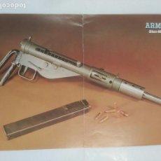 Militaria: CARTEL ARMAS. STEN MK II TDKR39. Lote 92999010