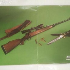 Militaria: CARTEL ARMAS. RIFLE WINCHESTER MODELO 70. TDKR39. Lote 92999090