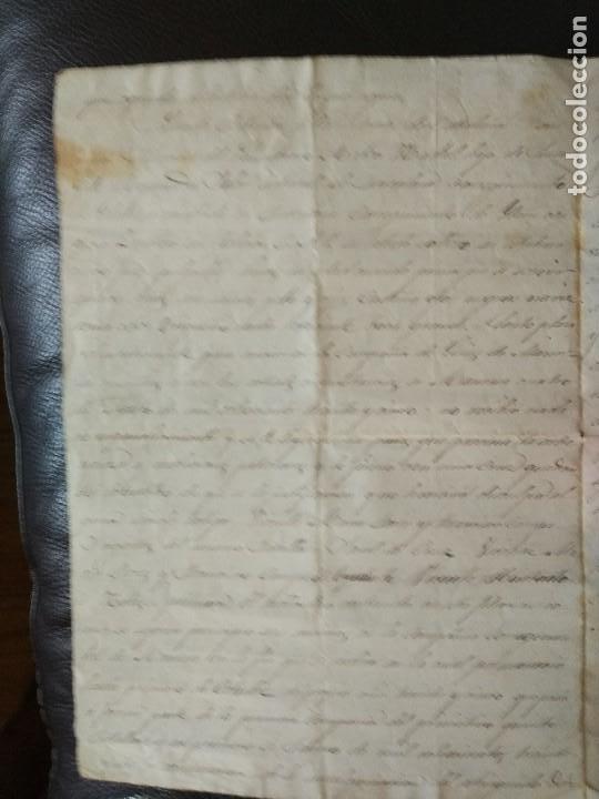 Militaria: 1864 certificaciónsoldado detalle BATALLAS 1ª Guerra Carlista VOLUNTARIOS FRANCOS CATALUÑA 1835-1838 - Foto 2 - 93661445