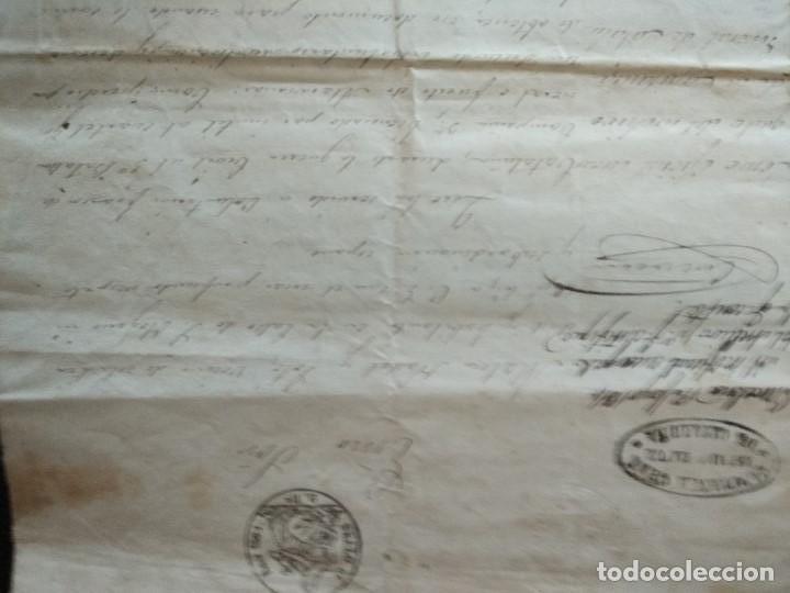 Militaria: 1864 certificaciónsoldado detalle BATALLAS 1ª Guerra Carlista VOLUNTARIOS FRANCOS CATALUÑA 1835-1838 - Foto 5 - 93661445