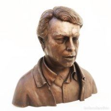 Militaria: BRONCE DE FELIPE GONZÁLEZ. AÑO 1986. FIRMADO BALLESTER. ORIGINAL DE ÉPOCA.. Lote 94035820