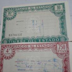 Militaria: MULTA POR OMISIÓN A PASAR REVISTA MILITAR AÑO 1976. Lote 94623772