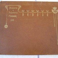 Militaria - ACADEMIA DE INFANTERIA - PROMOCION 1910 - TOLEDO. - 95536311