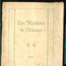 Militaria: ANARQUISMO - LOS MARTIRES DE CHICAGO - 1920'S . Lote 95727459