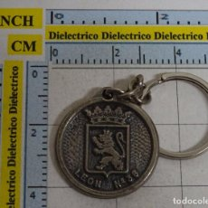 Militaria: LLAVERO MILITAR. REGIMIENTO DE INFANTERÍA LEÓN 38. . Lote 95843279