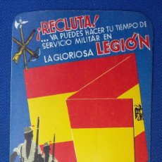 Militaria: PEGATINA DE LA LEGION. . Lote 96043007