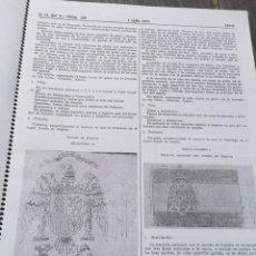 Militaria: REGLAMENTO DE BANDERAS DE 1977,COPIA TAMAÑO GIGANTE. Lote 96430530
