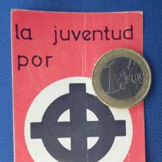 Militaria: PEGATINA NAZI ORDEN NUEVO. EDITADA AÑOS 70 . . Lote 96944359
