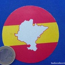 Militaria: PEGATINA NAVARRA ESPAÑOLA- EDITADA EN LOS AÑOS 70. . Lote 97007187
