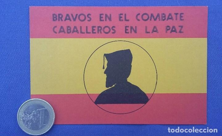 PEGATINA LEGION ESPAÑOLA EDITADA EN LOS AÑOS 70. EN BUEN ESTADO (Militar - Propaganda y Documentos)
