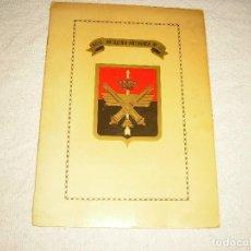 Militaria: REGIMIENTO ARTILLERIA ANTIAEREA N° 72 . PROGRAMA DE ACTOS SANTA BARBARA 1989. Lote 97405111
