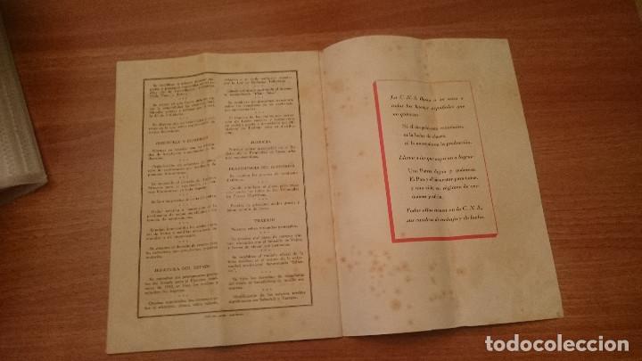 C. N. S. BOLETIN DEL SINDICATO MERCANTIL - AÑO 1942 (Militar - Propaganda y Documentos)