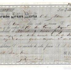 Militaria: CUBA. PAGARE. INGENIO JESUS MARIA. 1867. VER. Lote 97828643