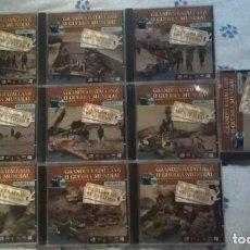 Militaria: GRANDES BATALLAS DE LA II GUERRA MUNIDAL - EDICIONES DOLMEN - 10 CD-ROM COMPLETA. Lote 98614691