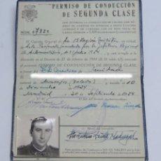 Militaria: CARNET DEL SERVICIO DE AUTOMOVILISMO DEL EJÉRCITO. AÑO 1954. ES DE UN TENIENTE MEDICO. SANIDAD.. Lote 98847355